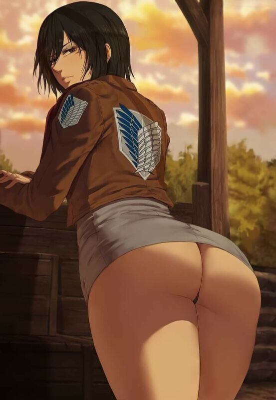 Attack On Titan Mikasa Ackerman Poster Season 4 The Final Season Anime Print