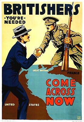 Home Coming Ideas ( orld war one - come across propaganda poster bedroom interior)