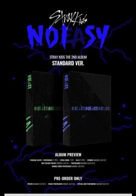 [Pre-Order] Stray Kids NOEASY Standard NEW *Choose Member* for Frame PC