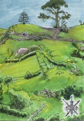 The Hobbit Battle Of Five Armies Sketch Card By Matias Streb
