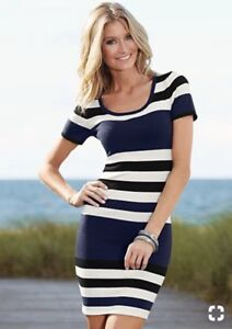 Striped Knit Dress from Venus!