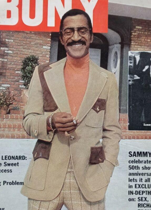 VTG March 1980 Ebony Magazine, Sammie Davis Jr., Sugar Ray Leonard, 80