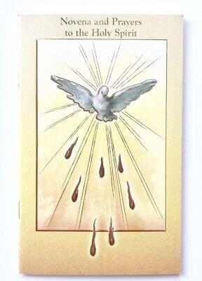 HOLY SPIRIT NOVENA & PRAYERS Booklet - 24 Page Full Colour - New