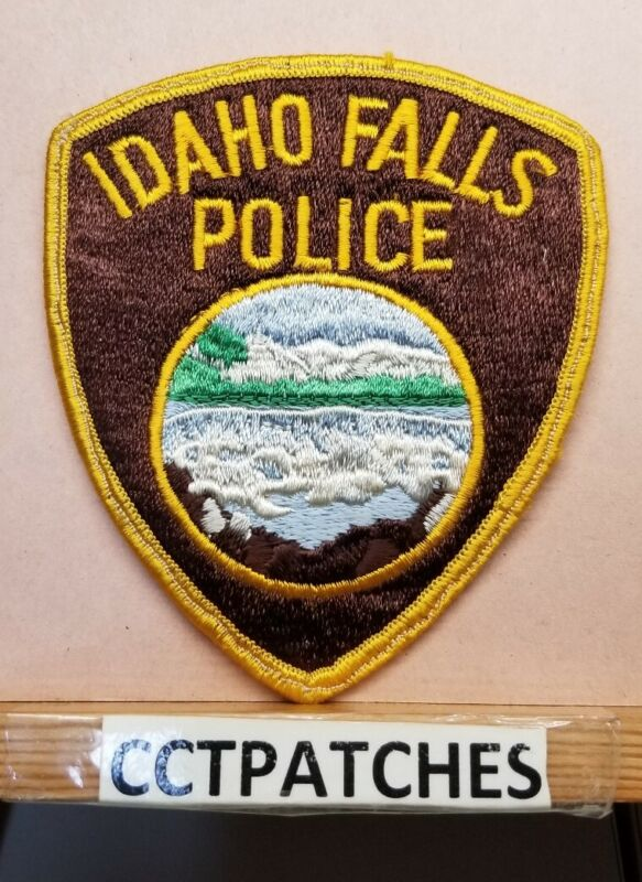 IDAHO FALLS, IDAHO POLICE SHOULDER PATCH ID