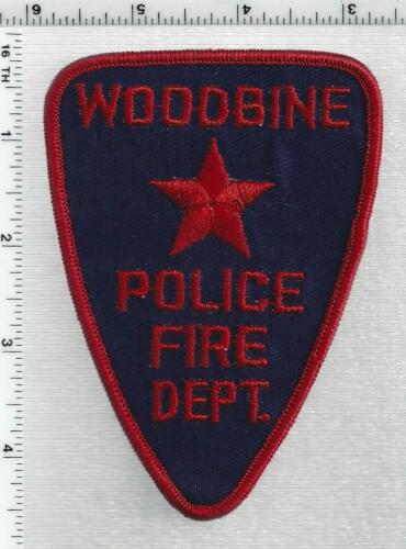 Woodbine Police-Fire Dept. (Iowa) 1st Issue Shoulder Patch