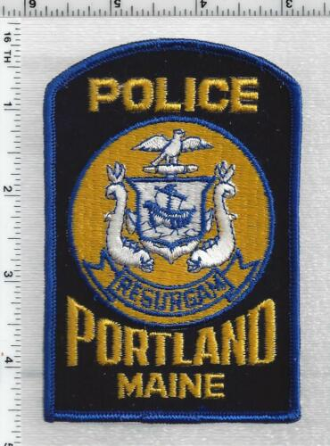 Portland Police (Maine) 3rd Issue Shoulder Patch
