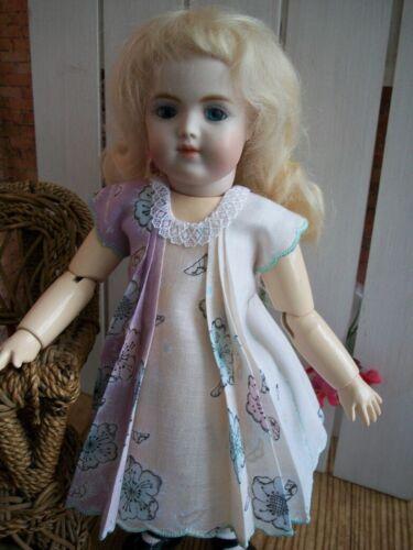 """11"""" Bleuette  """"Paris"""" Hanky Dress and Slip  No Doll"""