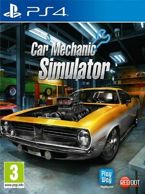 Car Mechanic Simulator (PS4) New & Sealed UK PAL Free UK P&P In Stock Now
