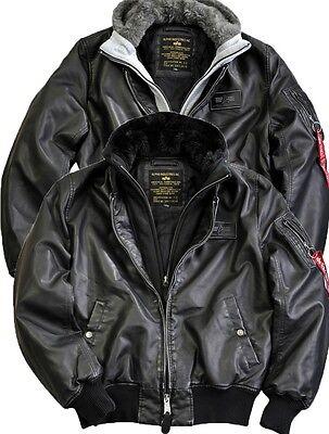 Details about Alpha Industries ma 1 D TEC FL Flight Jacket Leather Jacket Bomber Jacket Pilot Leather show original title