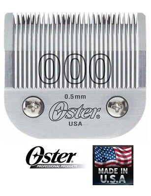 OSTER # 000 DETACHABLE CLIPPER BLADE*Fit 76,Titan,10,Octane,Turbo 111,Model One