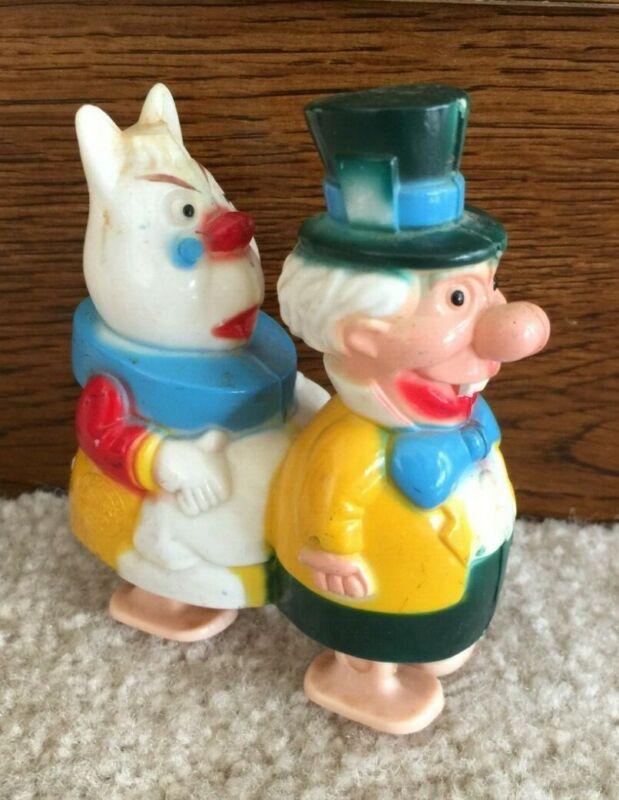 Vintage Marx Disney Mad Hatter Walking Toy