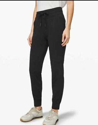 Lululemon Size 6 Ready To Rulu Pant Black BLK Soft Jogger Sweat Yoga Run NWT