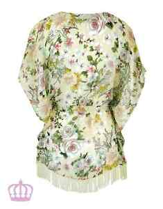 MAYLEEN FLORAL KIMONO RRP $70!! AVAILABLE IN BLACK OR CREAM.... Duncraig Joondalup Area Preview
