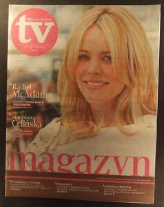 RACHEL McADAMS mag.FRONT cover 24/2011 Stanislawa Celinska - <span itemprop=availableAtOrFrom>europe, Polska</span> - Zwroty są przyjmowane - europe, Polska