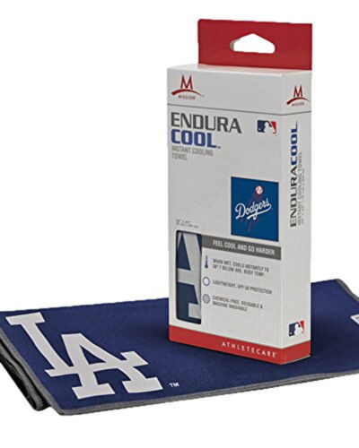"""Mission EnduraCool Instant Cooling Towel Los Angeles Dodgers Large 12x33"""""""