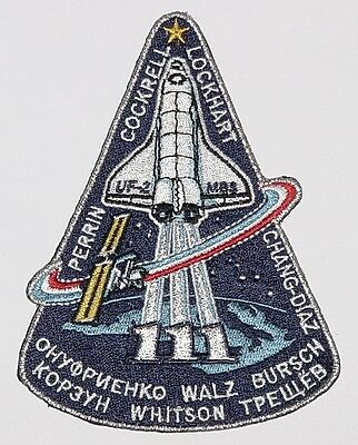 Aufnäher Patch Raumfahrt NASA STS-111 Space Shuttle Endeavour..........A3069