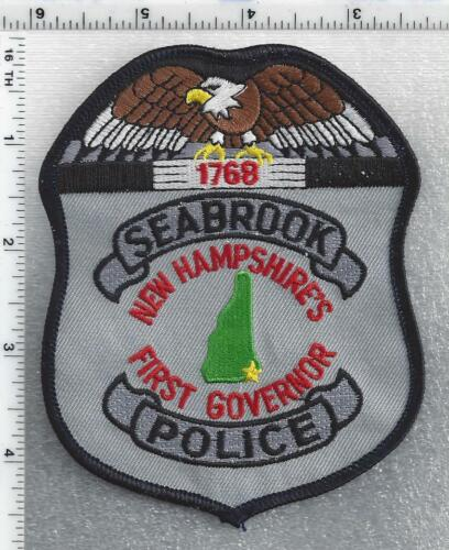 Seabrook Police (New Hampshire) 4th Issue Shoulder Patch