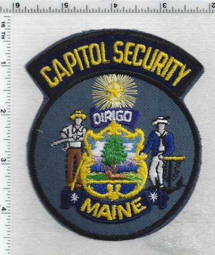 Capitol Security (Maine) 1st Issue Shoulder Patch