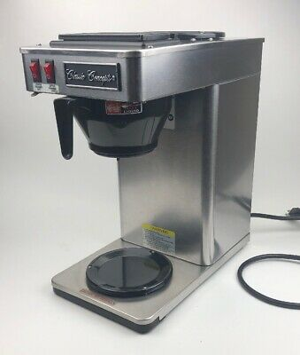 Classic Concepts Gb260 Stainless Steel Commercial Coffee Brewer Pour-over 12 Cup