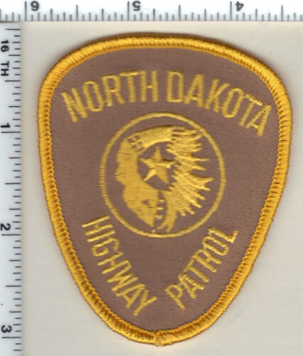 Highway Patrol (North Dakota)  Cap/Hat Patch - from the 1980