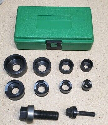 Greenlee 735bb Manual Knockout Punch Kit 12 To 1 14 Conduit