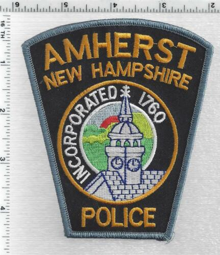Amherst Police (New Hampshire) 1st Issue Shoulder Patch