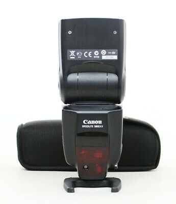 # Canon Speedlite 580EX II Shoe Mount Flash S/N 031590