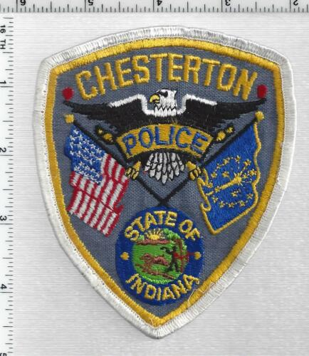 Chesterton Police (Indiana) 1st Issue Shoulder Patch