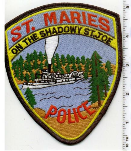 St. Maries Police (Iowa)  Shoulder Patch - new from 1980