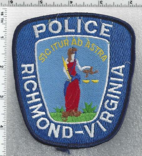 Richmond Police (Virginia) 3rd Issue Shoulder Patch