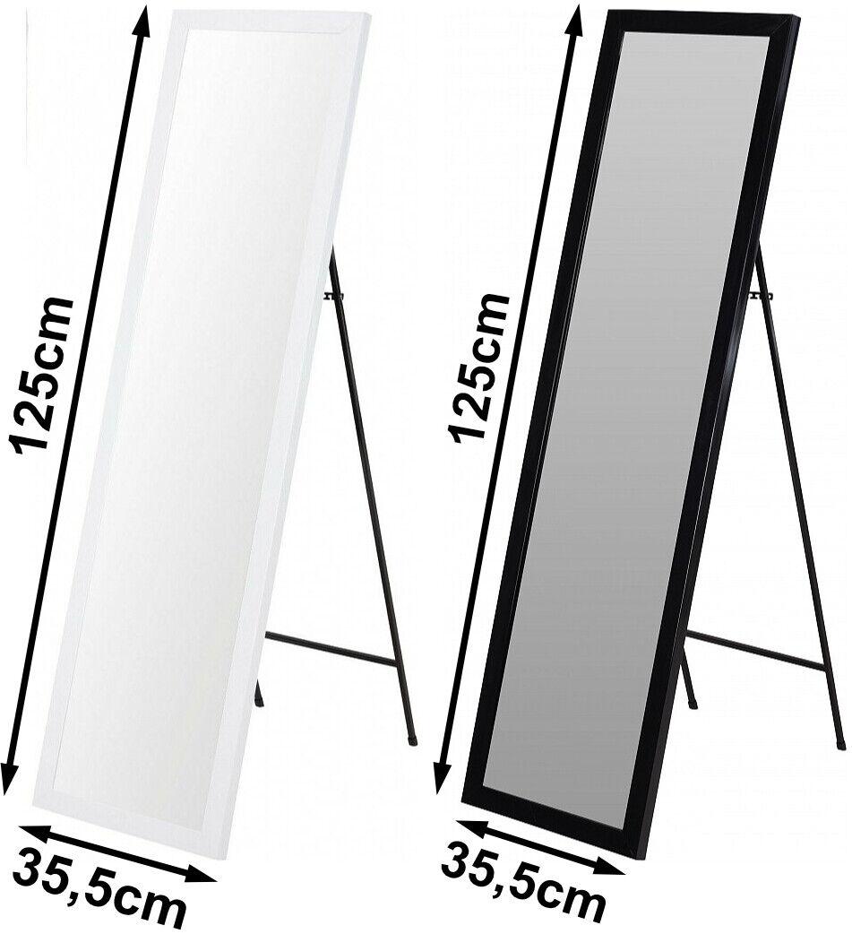 Standspiegel Ankleidespiegel H125cm Spiegel Flurspiegel frei stehend Variation