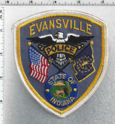 Evansville Police (Indiana) 2nd Issue Shoulder Patch