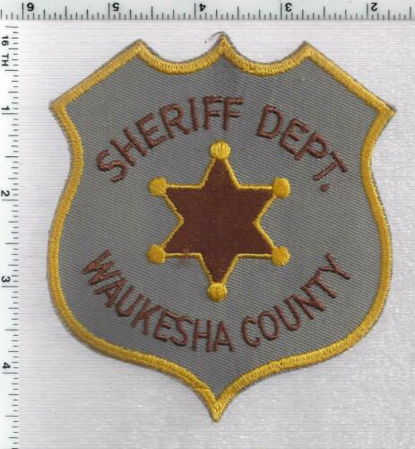 Waukesha County Sheriff (Wisconsin) 2nd Issue Shoulder Patch