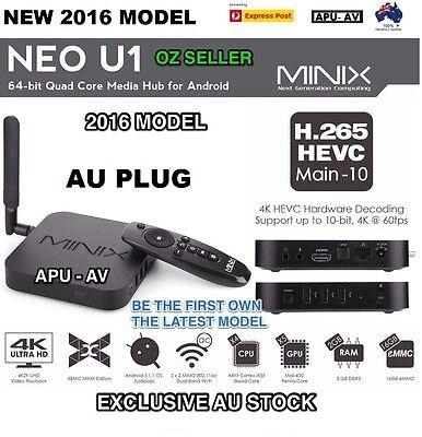 MINIX NEO U1 Android 5.1.1 TV Box S905 Quad-core 64 Bit Streaming Media Player