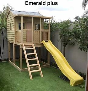 EMERALD PLUS OUTDOOR WOODEN TIMBER KIDS CUBBY HOUSE AUSTRALIAN Berwick Casey Area Preview