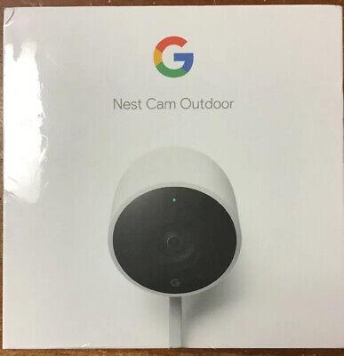 Google Nest Cam Outdoor Security Camera NC2100ES White New!!!