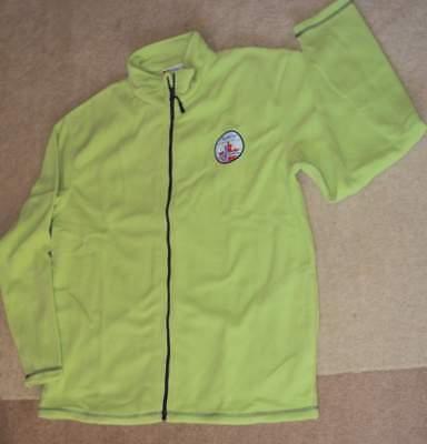 Fleecejacke Stehkragen Top (TOP moderne Nebulus Dame Jacke Fleece Fleecejacke grün Gr.L Stehkragen)