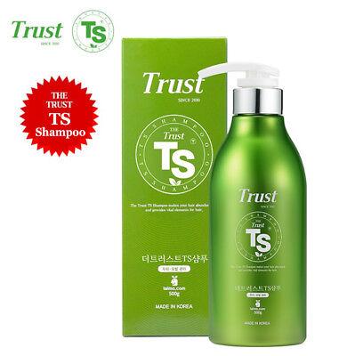 The Trust Ts Shampoo 500Ml  Makes Your Hair Abundant And Provides Vital Elements