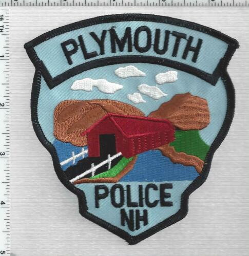Plymouth Police (New Hampshire) 3rd Issue Shoulder Patch