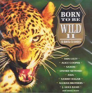 Born to Be Wild - Vol.2 - CD Neu - Far Corporation Thin Lizzy Lynyrd Skynyrd
