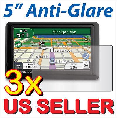 3X  Anti Glare Lcd Screen Protector Garmin Nuvi 50 50Lt 50Lm 50Lmt Lt Lm Lmt Gps