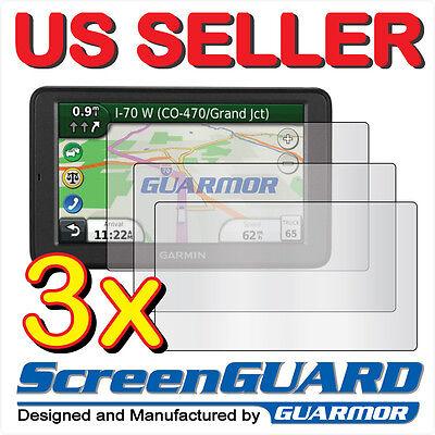 3X Anti Glare Matte Lcd Screen Protector Garmin Dezl 560 560Lt 560Lmt Lt Lmt Gps