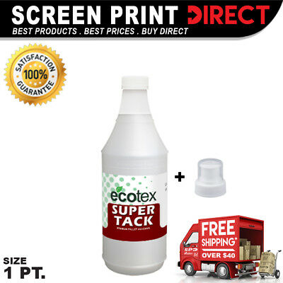 Ecotex Super Tack - Premium Pallet Adhesive For Screen Printing - 1 Pint- 16 Oz
