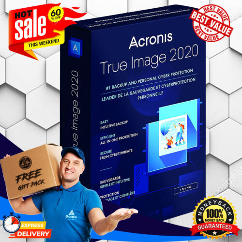 Acronis True Image 2020 🔥 Unlimited Devices PRE-ACTIVATED 🔥 Lifetime License ✅