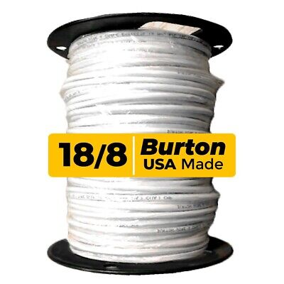 Burton Wire 18 Awg 8-conductorthermostat Wire Solid Copper 250ft Spool