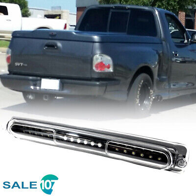 Fits For Ford F-150 1997 2003 Third Brake Light LED Cargo Lamp Clear Black