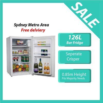 Brand New 126Litre Bar Fridge Refrigerator Freezer