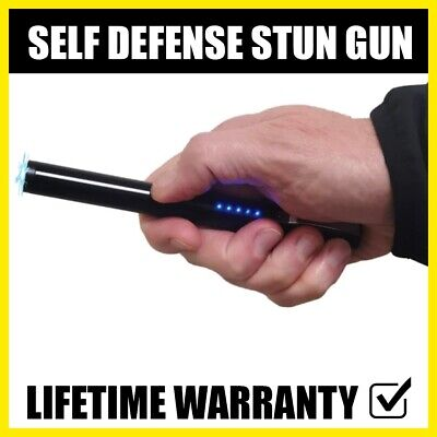 Everyday Carry Tactical 20KV High Power Stun Gun Self Defense Tool Black