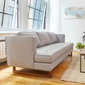 Brand New Aubrey Sofa from Gus Modern in Leaside Driftwood