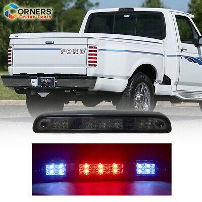 Ford F150 Bronco 92 96 LED Cargo Lamp Third Brake Tail Light Smoke Rear